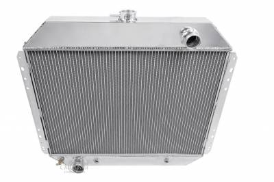 Champion Cooling Systems - Champion Four Row All Aluminum Radiator Ford F-Series/Bronco MC433