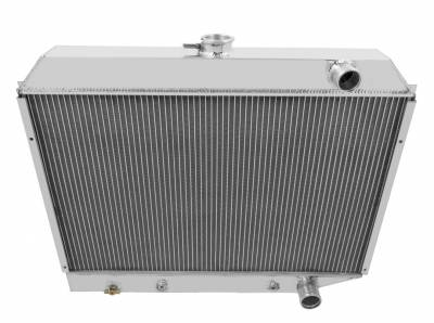 Champion Cooling Systems - Champion Cooling Three Row Aluminum Radiator for 1972-1973 Plymouth Satellite CC1643
