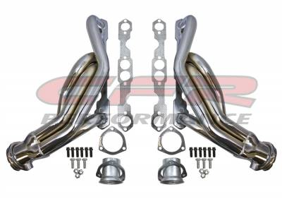 Exhaust - Headers - CFR - Chevy - GMC Small Block Truck Headers Chrome 1988-1995