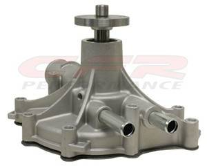 CFR - 1986-93 Ford Small Block Aluminum Reverse-Rotation Water Pump Natural - Image 1