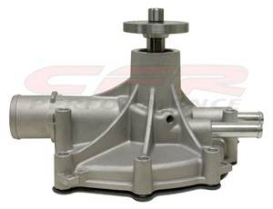 CFR - 1986-93 Ford Small Block Aluminum Reverse-Rotation Water Pump Natural - Image 2