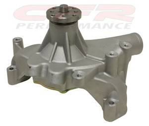 Cooling System - CFR - Chevy Big Block High Volume Long Water Pump 1969 to 1987 Natural Finish