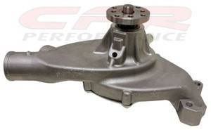 Cooling System - CFR - Chevy Big Block High Volume Short Water Pump 1965 to 1978 Natural Finish