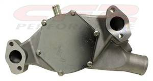 CFR - Chevy Big Block High Volume Short Water Pump 1965 to 1978 Natural Finish - Image 2