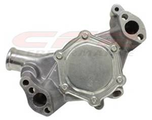 CFR - Chevy Small Block High Volume Long Water Pump 1969 to 1984 Polished - Image 2