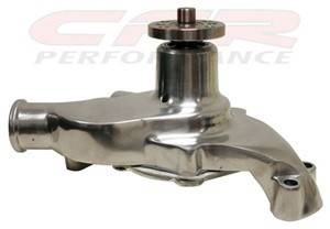 CFR - Chevy Small Block Water Pump 1955 to 1978 Polished Finish