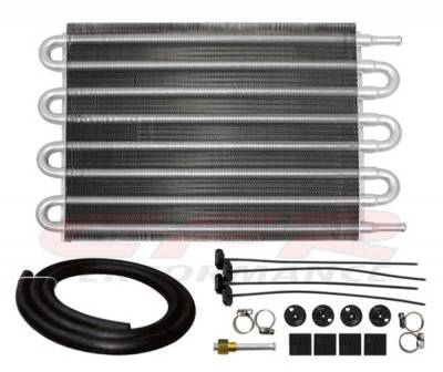 "CFR - 12"" x 10 "" Universal Transmission Oil Cooler - CHEVY/FORD/MOPAR"
