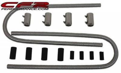 "Cooling System - CFR - 44"" Universal Chrome Heater Hose Kit"