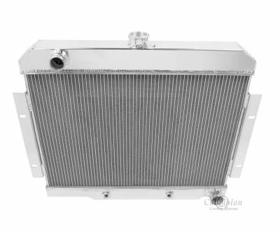Champion Cooling Systems - Champion Cooling Three Row Aluminum Radiator 1973 - 1986 Jeep CJ with Chevy V8 CC1919