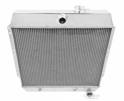Champion Cooling Systems - Champion Cooling Two Row Aluminum Radiator 1949-1954 Chevy EC4954
