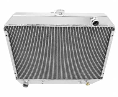 """Champion Cooling Systems - Champion Cooling Two Row Aluminum Radiator for 1970 -1974 Mopar 26"""" Core EC375"""