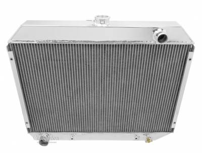 "Radiators - Aluminum Radiators - Champion Cooling Systems - Champion Cooling Four Row Aluminum Radiator for 1970 -1974 Mopar 26"" Core MC375"