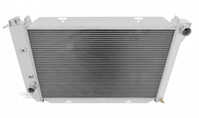 Champion Cooling Systems - Champion Cooling Three Row Aluminum Radiator for 1969 -1972 Ford CC381 Crossflow