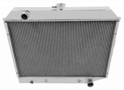 Radiators - Aluminum Radiators - Champion Cooling Systems - Champion Cooling Four Row Radiator for 1968 to 1974 Dodge Charger, Challenger, More MC374