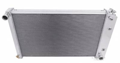 Champion Cooling Systems - Champion Cooling Two Row All Aluminum Radiator 75-87 GM Cadillac Chevy Buick Pontiac Olds EC162