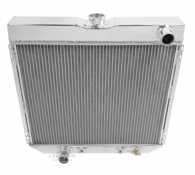 Champion Cooling Systems - Champion Four Row All Aluminum Radiator Mustang, Falcon, Cougar, Fairlane, Comet Various Years mc339
