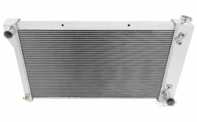 Champion Cooling Systems - Champion Four Row All Aluminum Radiator 1967-1972 Chevy Blazer and Suburban, GMC Jimmy mc369