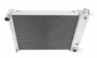 Champion Cooling Systems - Champion Two Row All Aluminum Radiator 1967-1969 Camaro/Firebird EC337