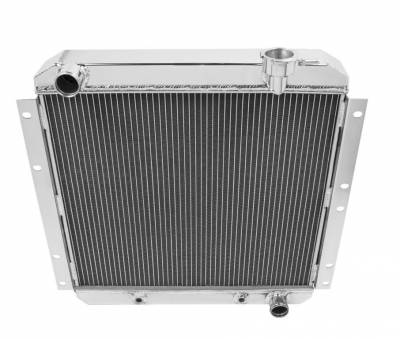 Champion Cooling Systems - Two Row All Aluminum Radiator 1970-1980 Toyota Land Cruiser Champion EC180