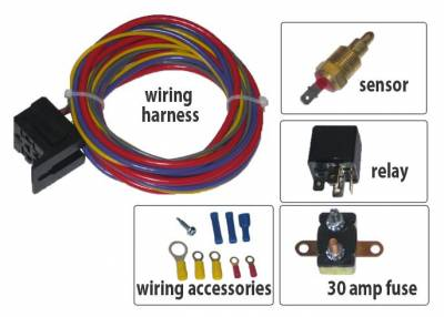 Cooling System - Cooling Accessories - Champion Cooling Systems - Electric Fan Relay Kit