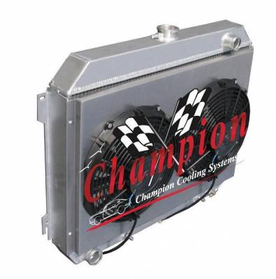 Cooling System - Cooling Accessories - Champion Cooling Systems - Shroud and Fan Kit