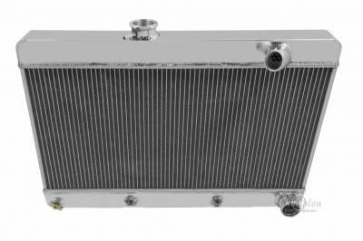 Cooling System - American Eagle - American Eagle Radiator AE6163 Aluminum fits 61-63 Pontiac Lemans-GTO-Tempest