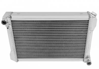 Champion Cooling - Radiator EC 6474 Aluminum 2 Row for 64-74 MG Midget