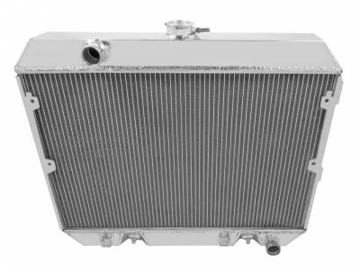 Radiators - Aluminum Radiators - American Eagle - American Eagle Radiator AE634 All-Aluminum 2 Row for 75-78 Datsun/Nissan 280Z