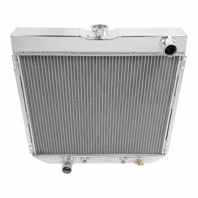 Radiators - Aluminum Radiators - American Eagle - American Eagle Radiator AE339 Aluminum 2 Row for 69-77 Ford Mustang & Ranchero