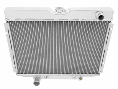 American Eagle - American Eagle Radiator AE379 Aluminum 2 Row for 67-70 Mustang and Cougar