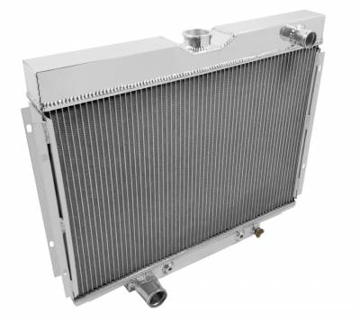 American Eagle - American Eagle Radiator AE379 Aluminum 2 Row for 67-70 Mustang and Cougar - Image 2