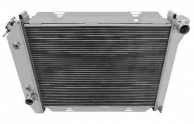 Radiators - Aluminum Radiators - American Eagle - American Eagle Radiator AE385 Aluminum 2 Row for 67-68 Ford Thunderbird