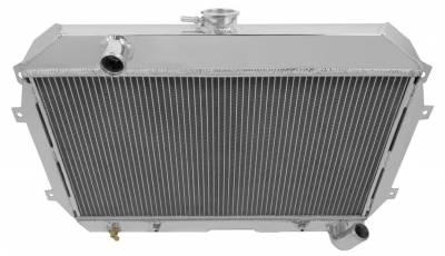 Radiators - Aluminum Radiators - American Eagle - American Eagle Radiator AE110 Aluminum 2 Row for 70-75 Datsun 240 and 260Z