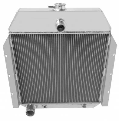 Champion Cooling Systems - Three Row Champion All Aluminum Radiator for 1941-1949 International Harvester Trucks cc8960