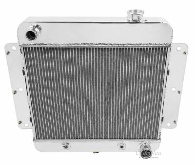 Champion Cooling Systems - Champion Cooling Three Row All Aluminum Radiator for 1962 -1967 Chevy Nova Inline Six CC255