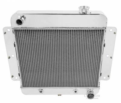 Radiators - Aluminum Radiators - Champion Cooling Systems - Champion Cooling Three Row All Aluminum Radiator for 1962 -1967 Chevy Nova Inline Six CC255