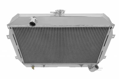 Champion Cooling Systems - Champion Four Row All Aluminum Radiator 1970-1975 Datsun 240 and 260Z MC110