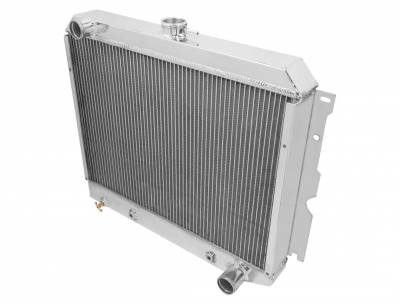 Champion Cooling Systems - Champion Four Row All Aluminum Radiator for Chrysler Mopar MC2374