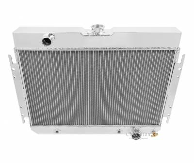 Champion Cooling Systems - Champion Two Row Aluminum Radiator 1963-1968 GM Impala Bel Air Chevelle EC289