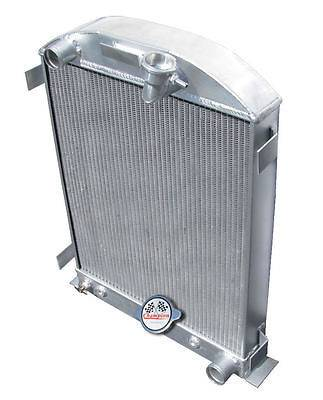 Champion Cooling Systems - Three Row All Aluminum Radiator 32 Ford with Chevy configuration CC1009