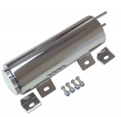 "Cooling System - Top Street Performance - Stainless Steel Overflow Tank 3"" x 10"""
