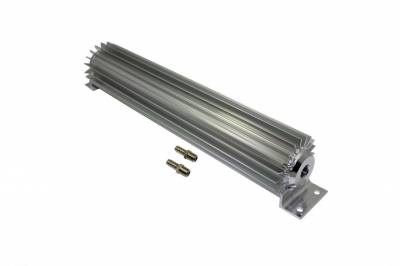 "Drive Train - Transmission Accessories - Big Dog Auto - 15"" Single Pass Finned Aluminum Transmission Cooler"