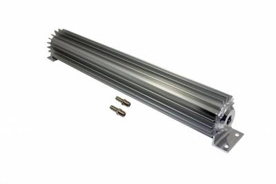 "Drive Train - Transmission Accessories - Big Dog Auto - 18"" Single Pass Finned Aluminum Transmission Cooler"