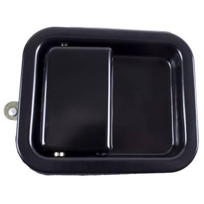 Exterior - Door Handles - Rugged Ridge - RH Paddle Door Handle, Black; 81-06 Jeep CJ/Wrangler YJ/TJ