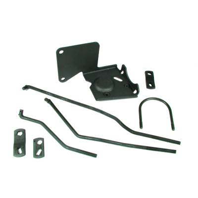 Drive Train - Transmission Accessories - Hurst Shifters - Installation Kit, Competition Plus - 67-68 Chev Camaro and Pontiac Firebirds w/Muncie Trans