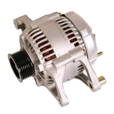 Electrical System - Alternators - Omix-ADA - Alternator, 81 Amp, 2.5L/4.0L; 99-00 Jeep Cherokee/Wrangler XJ/TJ