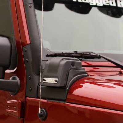 Offroad - Exterior Accessories - Rugged Ridge - XHD Low-Mount Snorkel, 3.6L; 12-16 Jeep Wrangler JK