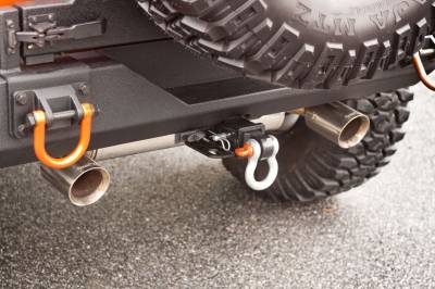 Rugged Ridge - Axle Back Exhaust System, Stainless Steel; 07-16 Jeep Wrangler JK - Image 2