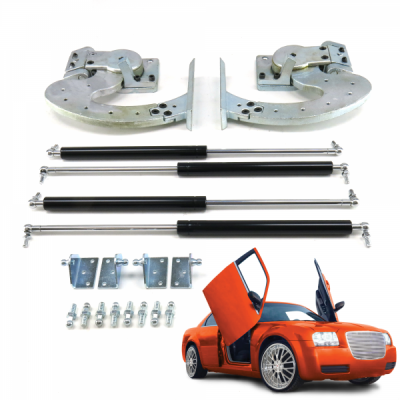 Autoloc - 90 Degree Heavy Duty Manual Lambo Vertical Door System
