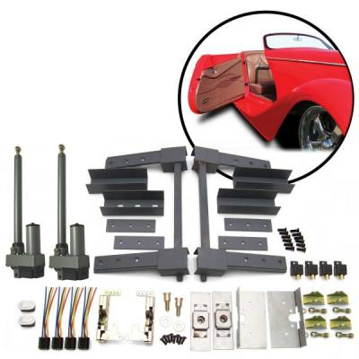 Door Kits - Suicide Door Kits - Autoloc - Two Door Automatic Pre-Aligned Suicide Hidden Hinge System